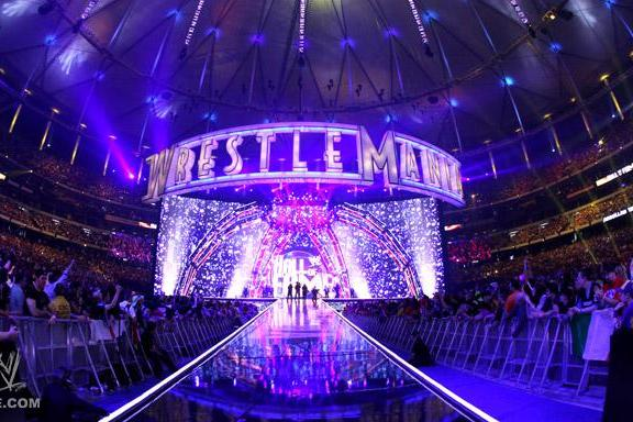 WWE WrestleMania: Through the Eyes of the Many