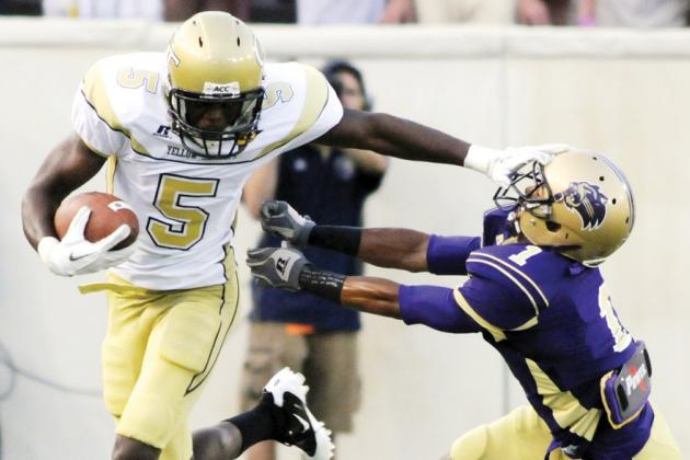 NFL Combine Results 2012: 5 Wide Receivers Who Turned Heads in Indianapolis