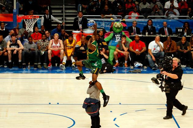NBA All-Star Game 2012: 10 Greatest Dunk Contest Performances Ever