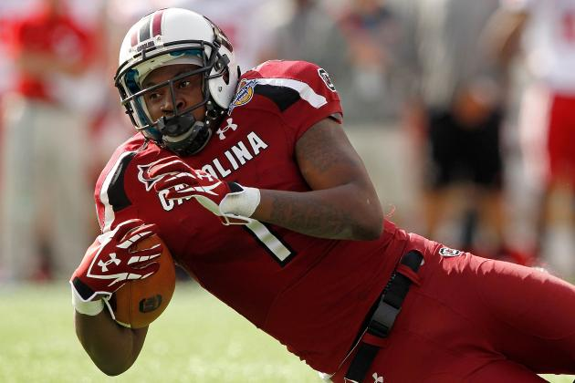 NFL Combine Results 2012: 5 Skill Position Players Who Hurt Themselves