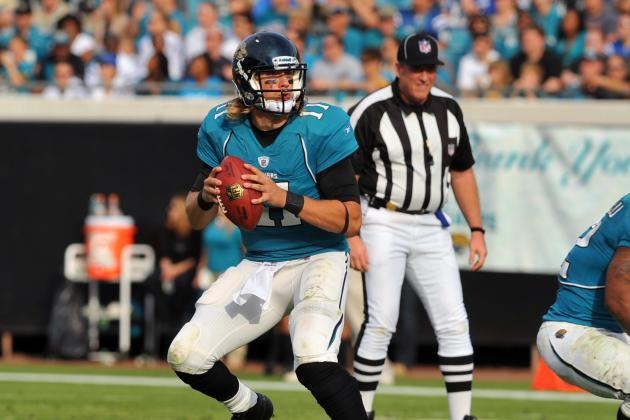 2012 NFL Draft: 5 Picks for Jacksonville Jags That Will Help Blaine Gabbert Grow
