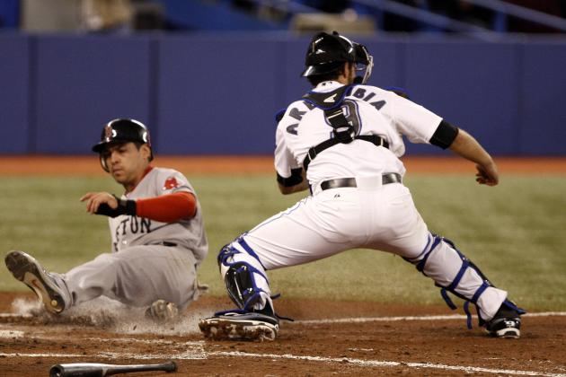 J.P. Arencibia: Ranking the Toronto Blue Jays Backstop Among AL East Catchers
