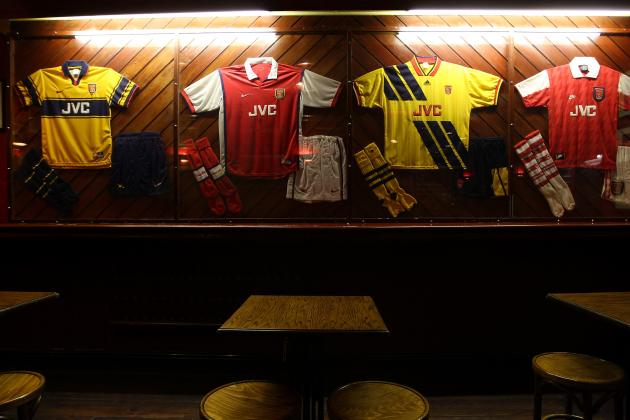 Arsenal's 10 Best Away Kits