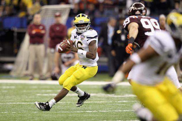 Big Ten Football: Michigan's Denard Robinson and the 5 Best Playmakers