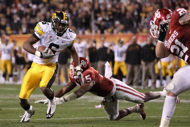 Power Ranking 2012 Big Ten Pass Catchers