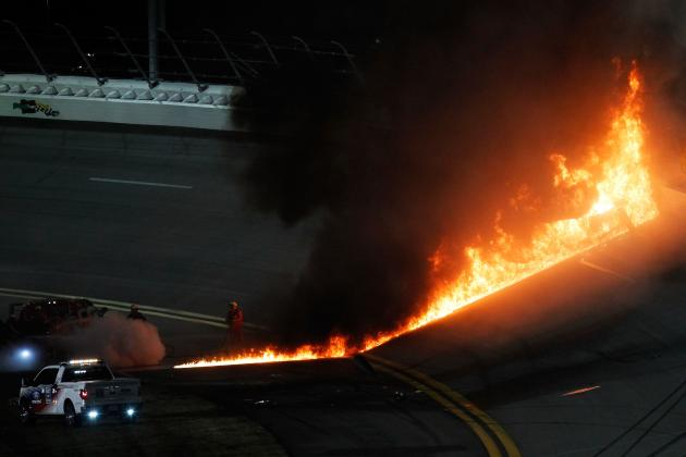 Daytona 500 2012: Twitter, Tide and Fire Make NASCAR Amazing in Primetime