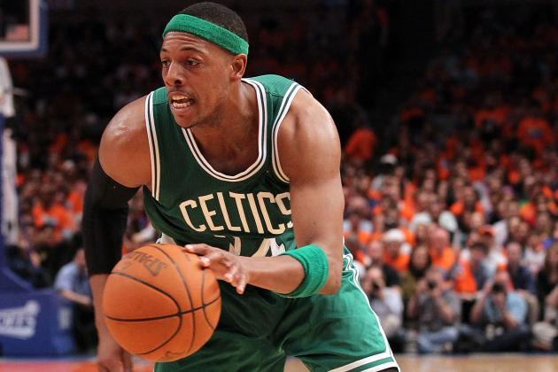 NBA Trade Rumors: Boston Celtics Would Be Wrong to Trade Paul Pierce