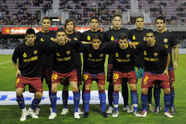 FC Barcelona: Top 5 Barca B Prospects in Line for Promotion to the First Team