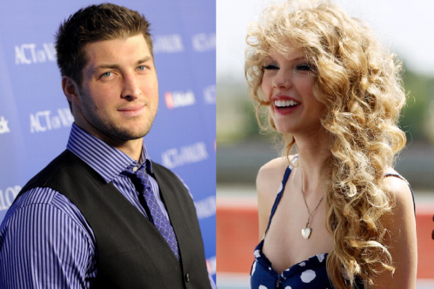 Tim Tebow-Taylor Swift Dating? 5 Pop Stars and Their Headlines in a Tebow Fling