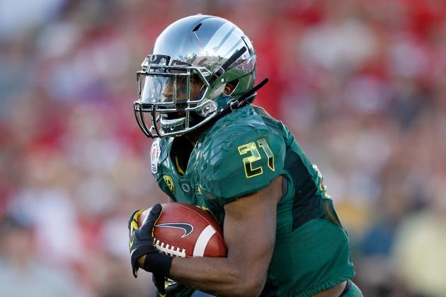 LaMichael James and 6 Former Oregon Ducks: Results from 2012 NFL Combine