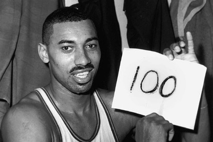 Wilt Chamberlain's 100 and Greatest Performances in Sports History