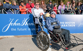 Yes, You Can Meet All the Members of the Team Hoyt Boston Marathon Team