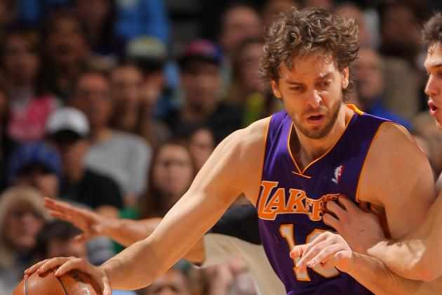 NBA Trade Deadline: Pau Gasol and One Trade Candidate for Every Team Part 2
