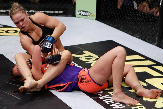 Strikeforce: Miesha Tate vs. Ronda Rousey Fight Card Results