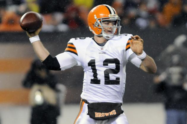 2012 NFL Draft: Cleveland Browns, Colt McCoy vs. Notable QB's in First 16 Starts