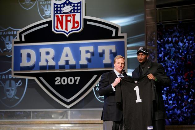 NFL Draft: Worst Pick Ever at Every Spot of 1st Round
