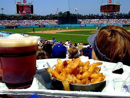 Power Ranking MLB Stadiums Based on Their Food