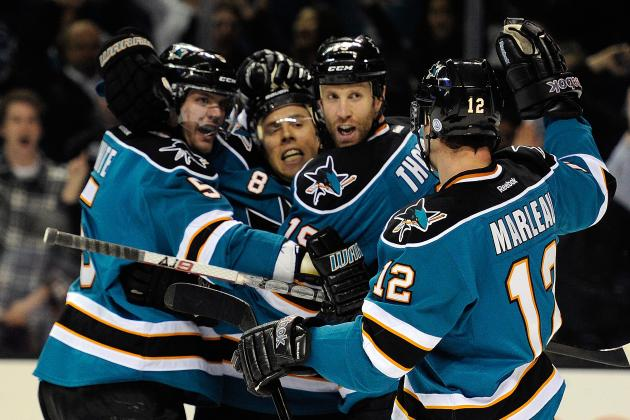 San Jose Sharks: 10 Reasons a Postseason Appearance Is Already a Lock