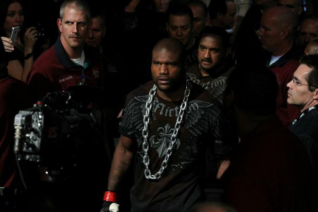 "5 Potential Opponents for Quinton ""Rampage"" Jackson's Last UFC Fight"