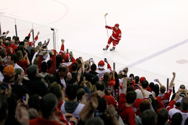 Detroit Red Wings: 3 Reasons They're Unbeatable at Joe Louis in the Playoffs