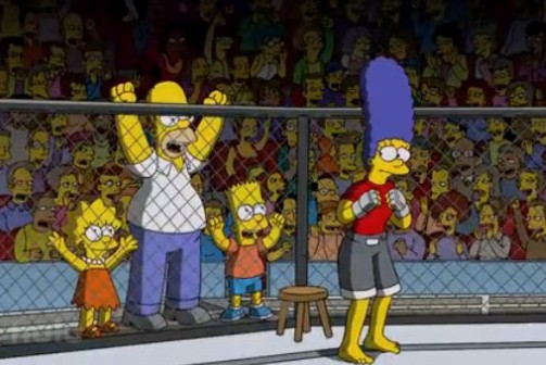 MMA: Simpson Characters and Their MMA Counterparts