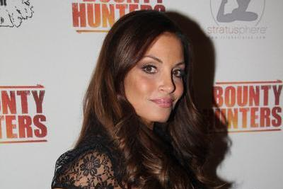 Trish Stratus Interview with Arda Ocal and 'Bounty Hunters' Toronto Premiere