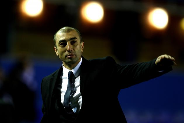 Chelsea FC: Manager Roberto Di Matteo's Top 8 Goals for Remainder of Season