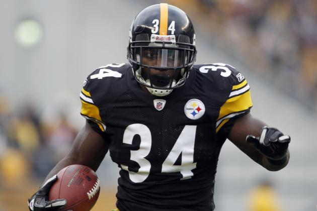 Pittsburgh Steelers: Analysis Heading into 2012, RB
