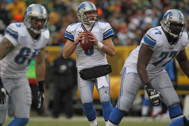 Detroit Lions: Predicting Each Offensive Starter for the 2012 NFL Season