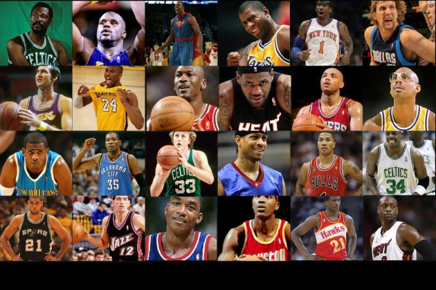 64 Player One-on-One NBA Legends vs. NBA Current-Stars March Madness Tournament
