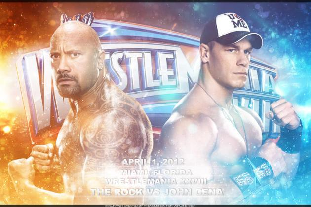 WWE WrestleMania 28: Will John Cena vs. the Rock Be the Biggest Match Ever?