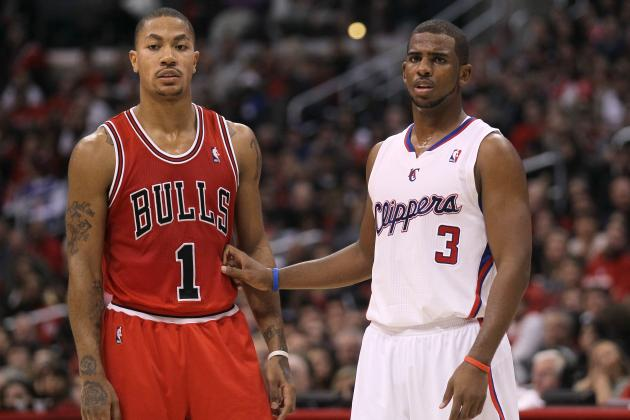 NBA Power Ranking: Derrick Rose and the Greatest Point Guard Ever for Each Team