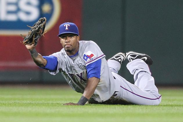 Texas Rangers: Who Should Start in Centerfield?