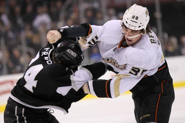 NHL: 6 Best Los Angeles Kings-Anaheim Ducks Rivalry Moments