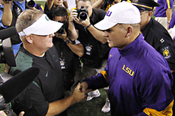 13 College Football Coaches We'd Go Have a Beer with
