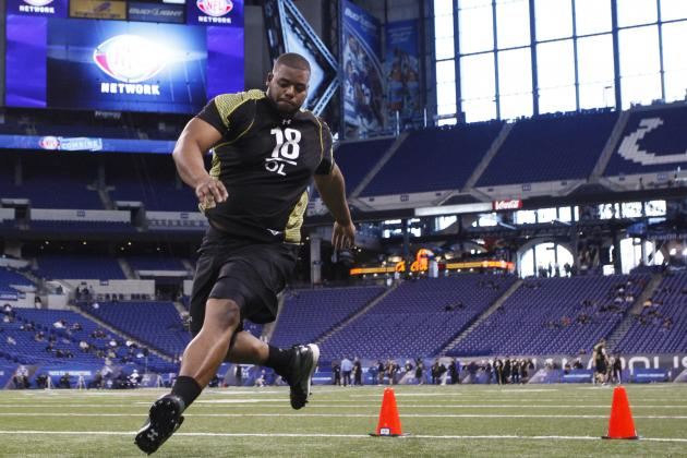 NFL Draft 2012: 10 Prospects Riding High After Strong Combine Showings
