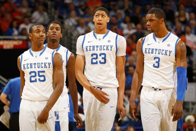College Basketball Top 25: Kentucky, Syracuse Lead B/R Writers Rankings