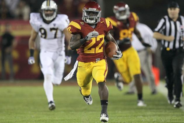 Pac-12 Football 2012: Power Ranking Starting Running Backs