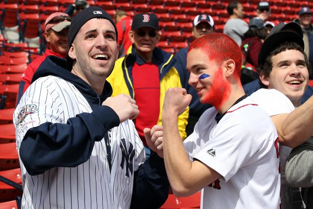 MLB Power Rankings: Is Red Sox Nation Still Baseball's Most Insane Fanbase?
