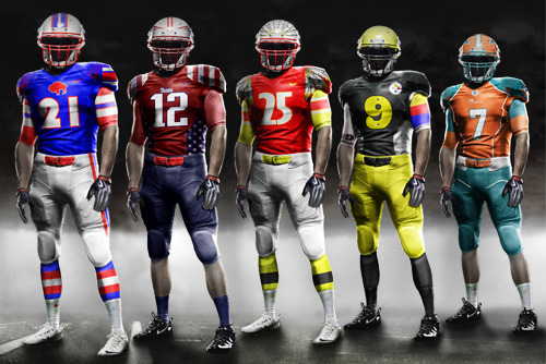Suggesting 1 Upgrade for Each NFL Team's Uniform