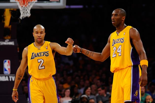 Derek Fisher, Kobe Bryant and the Most Mismatched Guard Duos in the NBA