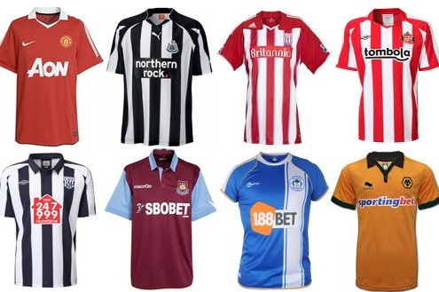 Ranking the 20 English Premier League Home Team Jerseys