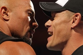 John Cena vs the Rock Recap: Rock Electrifies to Make It 2-1