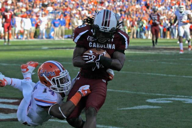South Carolina Football: Top Receiving Threats for 2012