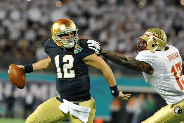 Notre Dame Football: 5 Predictions for the 2012 Season