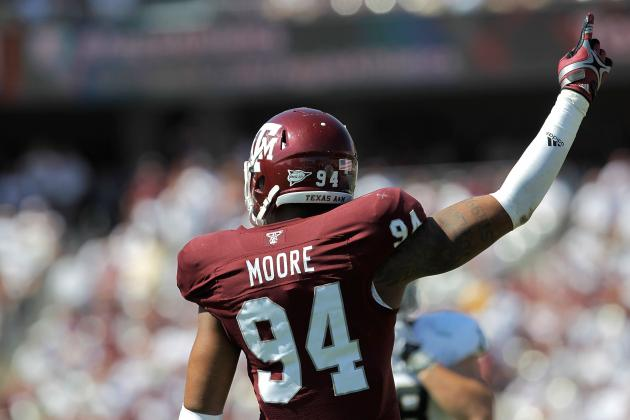 Texas A&M Football: 10 Current Aggies with NFL-Caliber Talent