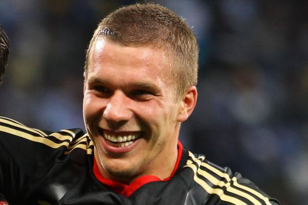 Arsenal Transfer Target Lukas Podolski's Video Highlights Reel