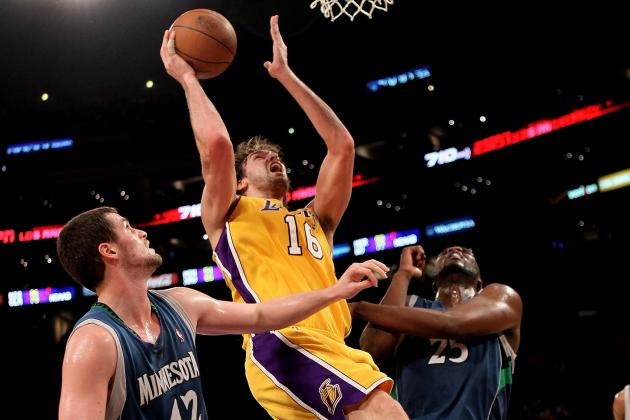 Better Big Man in His Prime: Pau Gasol or Kevin Love?