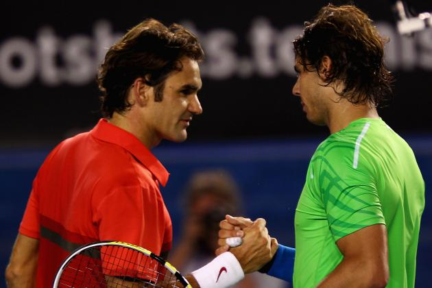 Rafael Nadal-Roger Federer and the 25 Most Intense Rivalries in Tennis History