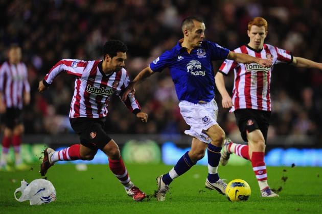 Everton vs. Sunderland: 6 Key Battles to Watch in FA Cup Quarterfinal